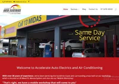 Accelerate Auto Electrics and Air Conditioning