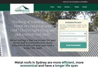 North Shore Metal Roofing