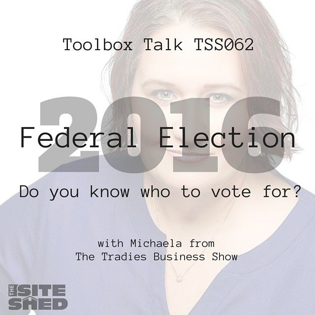 TSS062-1 It's time to vote