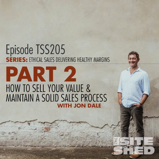 TSS205-How-to-sell-your-value-and-maintain-a-solid-sales-process